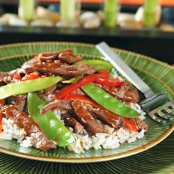 How to cook Asian Beef with Snow Peas