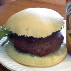 How to cook Blue Stuffed Buffalo Burger