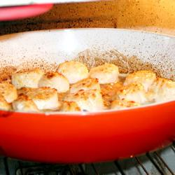 How to cook Broiled Scallops