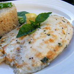 How to cook Broiled Tilapia Parmesan