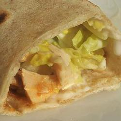 How to cook Buffalo Chicken Wraps
