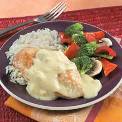 How to cook Campbell's Creamy Dijon Chicken with Rice