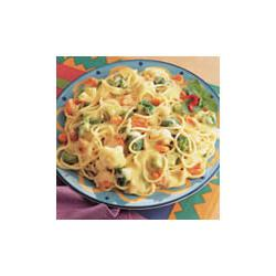 How to cook Campbell's Kitchen Creamy Pasta Primavera