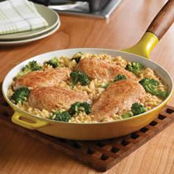 How to cook Campbell's Quick and Easy Chicken, Broccoli and Brown Rice Dinner