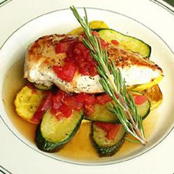 How to cook Chicken and Summer Squash