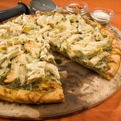 How to cook Chicken Pesto Pizza