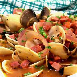 How to cook Clams and Chourico
