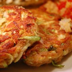 How to cook Connie's Zucchini 'Crab' Cakes