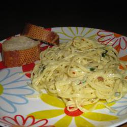 How to cook Creamy Linguini for Two
