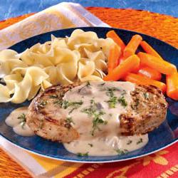How to cook Creamy Mustard Pork Chops
