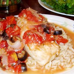 How to cook Fish Fillets Italiano