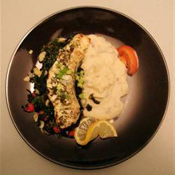 How to cook Fresh Herbed Halibut