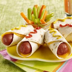 How to cook Hot Dog Roll Up