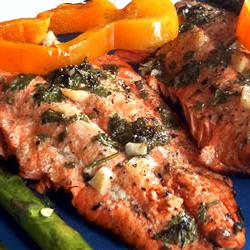 How to cook Marinated Wild Salmon