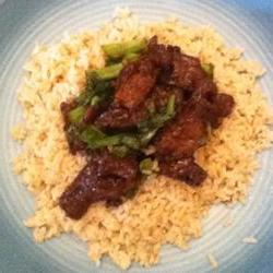 How to cook Mongolian Beef and Spring Onions