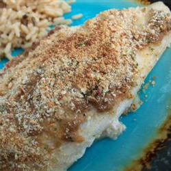 How to cook Mustard Crusted Tilapia