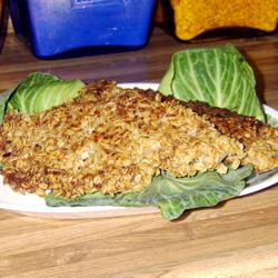 How to cook Oat Crusted Fish