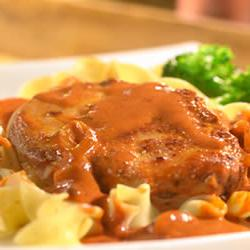 How to cook Pork Chops Paprikash