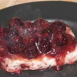 How to cook Pork Chops with Blackberry Port Sauce