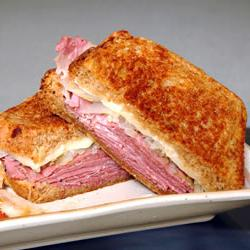 How to cook Reuben Sandwich I