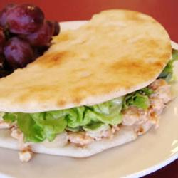 How to cook Roast Chicken Pita Pockets