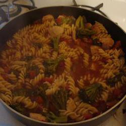 How to cook Rotini with Broccoli
