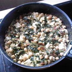 How to cook Spinach Chickpea Curry