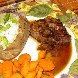 How to cook Steak with Marsala Sauce
