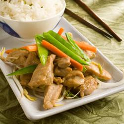 How to cook Stir-Fry Pork with Ginger