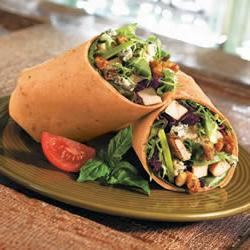 How to cook Sundried Tomato Basil Pesto Chicken Wrap