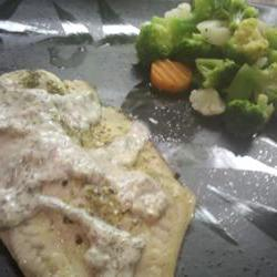 How to cook Tilapia with Creamy Sauce