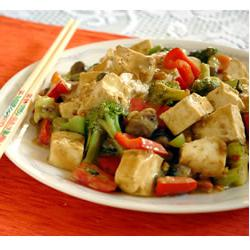 How to cook Tofu and Veggies in Peanut Sauce