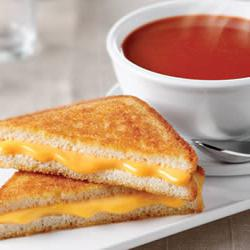 How to cook Tomato Soup and Grilled Cheese Sandwich
