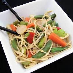 How to cook Vegetable Lo Mein Delight