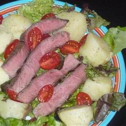 How to cook Warm Steak and Potato Salad